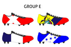 Brazil Cup Cleats Group E Royalty Free Stock Photo