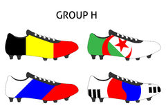 Brazil Cup Cleats Group H Stock Photos