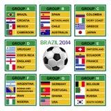 Brazil cup 2014, Soccer Tournament. Brazil 2014 , Soccer ( Football ) Tournament Royalty Free Stock Photography