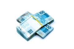 Brazil Currency Royalty Free Stock Photos