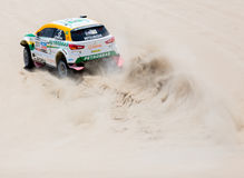 Brazil in Dakar 2013 Stock Image