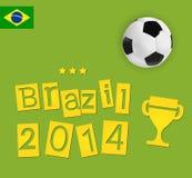 Brazil design Stock Image
