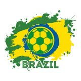 Brazil design Royalty Free Stock Photos