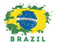 Brazil design Stock Image