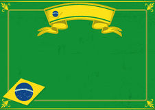 Brazil diploma Stock Photography
