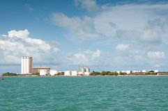 Brazil Factory on Shoreline Stock Photography