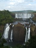 brazil faller iguassuen Fotografering för Bildbyråer