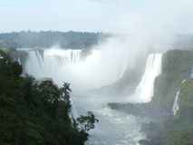 brazil faller iguassuen Royaltyfri Fotografi