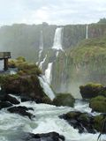 brazil faller iguassuen Royaltyfri Foto