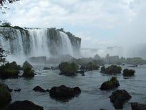 brazil faller iguassuen Royaltyfria Bilder