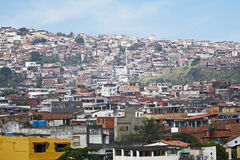 brazil favelas slamsy Obrazy Royalty Free