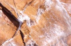 brazil flödande vatten arkivfoto