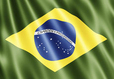 Brazil Flag Royalty Free Stock Images