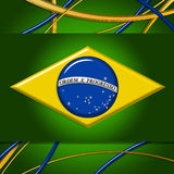 Brazil Flag Background Royalty Free Stock Photo