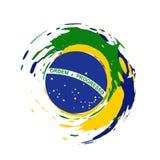 Brazil flag design Stock Photography
