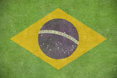 Brazillian flag Stock Image