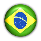 brazil flagga vektor illustrationer