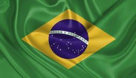 brazil flagga Arkivbilder