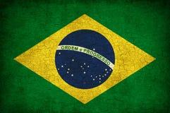 brazil flagga Arkivfoto