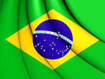brazil flagga stock illustrationer