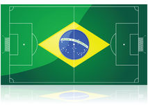 Brazil football Stock Photography
