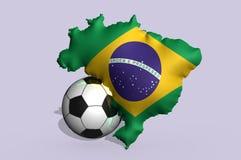 Brazil 2014 football Stock Photos
