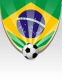 Brazil Football Royalty Free Stock Photo