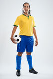 Brazil football player Stock Photography