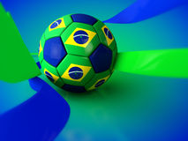 Brazil Football World Cup. 2014 Stock Photography