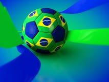 Brazil Football World Cup. 2014 vector illustration