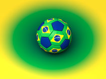 Brazil Football World Cup Stock Photo
