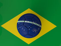Brazil Football World Cup. Brazil 2014 Soccer World cup Stock Illustration