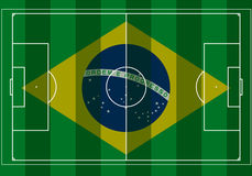Brazil Football World Cup. Brazil 2014 Soccer World cup Stock Image
