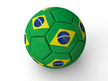 Brazil Football World Cup. Brazil 2014 Soccer World cup Royalty Free Illustration