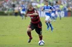 brazil fotbollsportar Royaltyfria Bilder