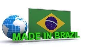 brazil gjorde Arkivfoton