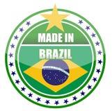 brazil gjorde Royaltyfri Fotografi
