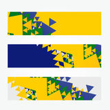 Brazil headers Royalty Free Stock Images
