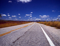 Brazil Highway Royalty Free Stock Images