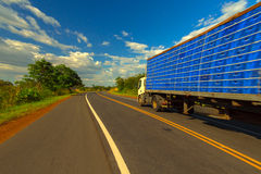 Brazil Highway royalty free stock photography