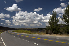 brazil huvudväg Arkivfoton