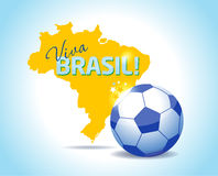Brazil icon set. Brazil sport background.Vector illustration Royalty Free Stock Image