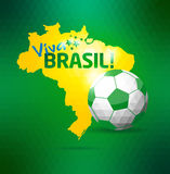 Brazil icon set. Brazil sport background.Vector illustration Stock Image