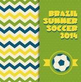 Brazil icon set. Royalty Free Stock Photography