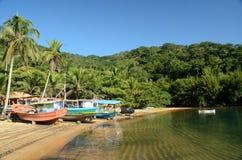 Brazil Island. Ilha Grade Island located at angra dos reis city, Rio de Janeiro Estate, Brazil Royalty Free Stock Image