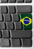 Brazil key Royalty Free Stock Photos