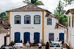 brazil koloniala hustiradentes Royaltyfria Bilder