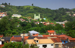 Brazil landscape. Small village in the Suburbs of Sorocaba city in Brazil Stock Photography