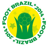 Brazil 2014 logo Stock Photos