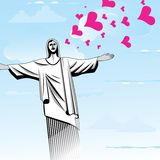 Brazil love God vector Stock Photo